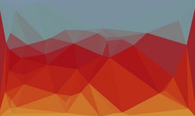 Multicolored minimal polygonal background stock vector