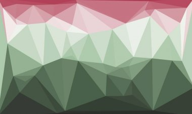 Abstract colorful polygonal background stock vector