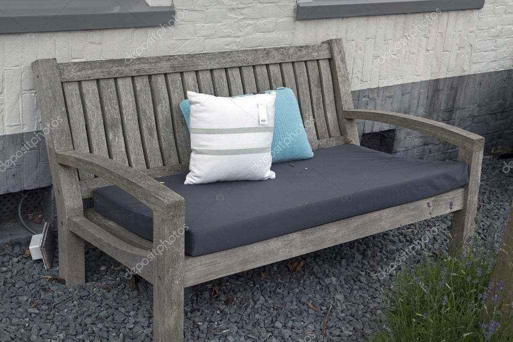 Cojin para banco beautissu cojines lounge exterior xluna respaldo muebles mimbre jardn - Cojin banco exterior ...
