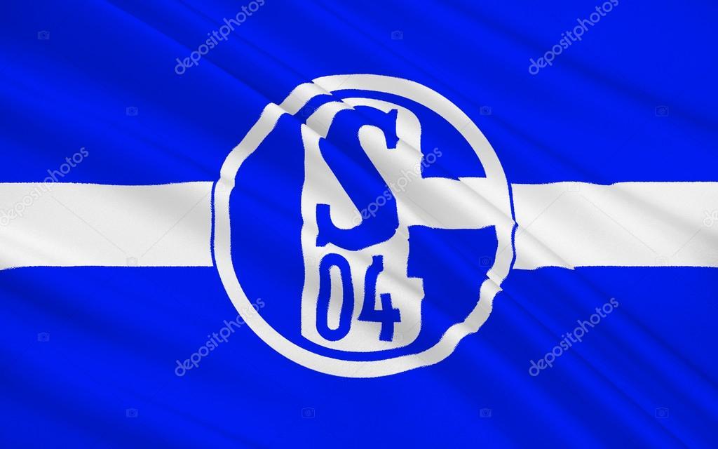 Flag Football Club Schalke 04 Gegmany Stock Editorial Photo C Zloyel 100121326