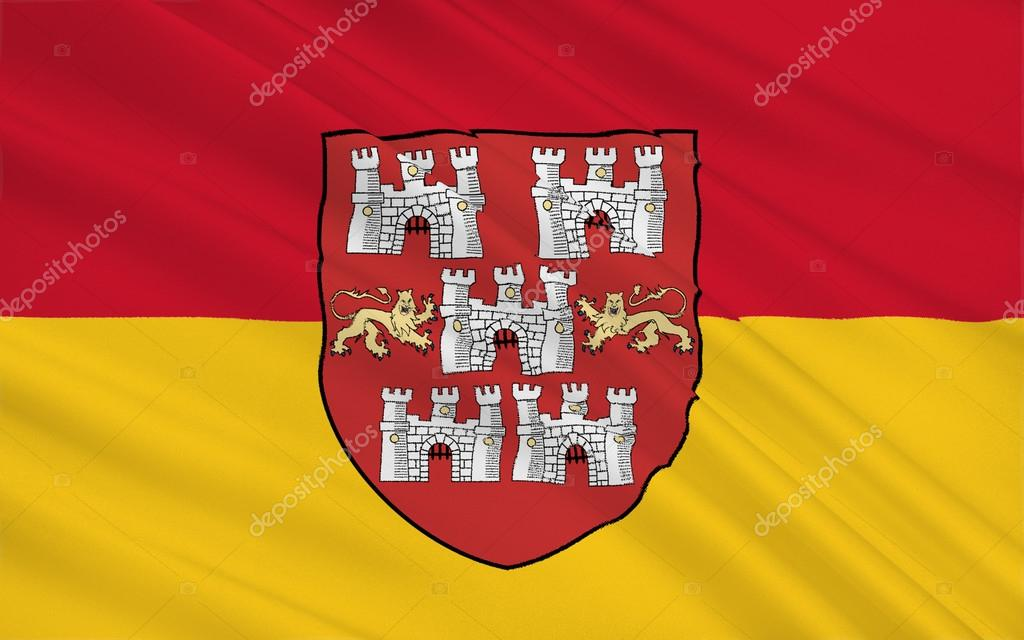 Flag Of Winchester Is A City England Stock Photo Zloyel 105053948