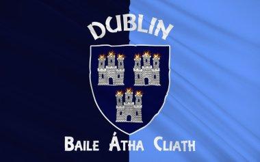 Flag County Dublin is a county in Ireland