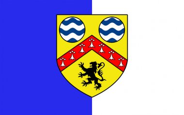 Flag of County Laois is a county in Ireland
