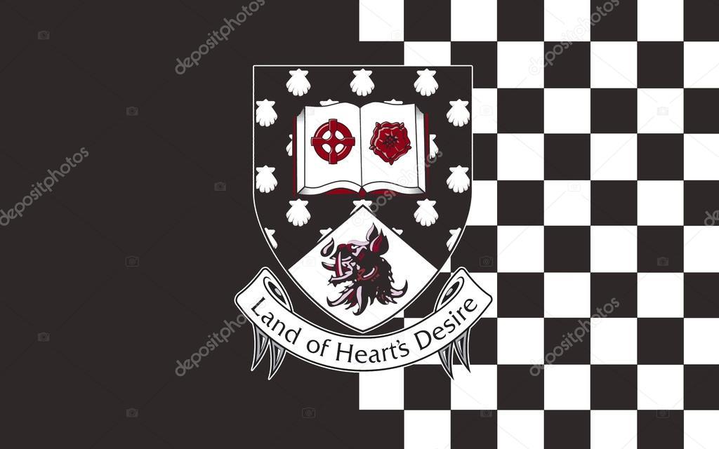 スライゴの旗がアイルランドの郡...