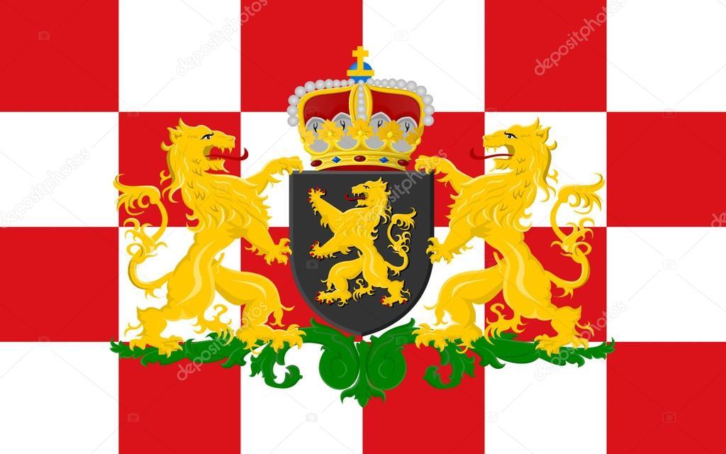 北ブラバント, オランダの旗 — ...