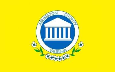 Flag of Arlington County in Virginia, USA