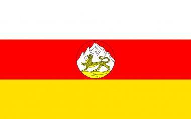 Flag of Republic of North Ossetia-Alania