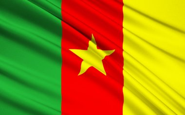 Flag of Cameroon, Yaounde