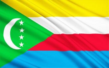 Flag of Comoros, Moroni