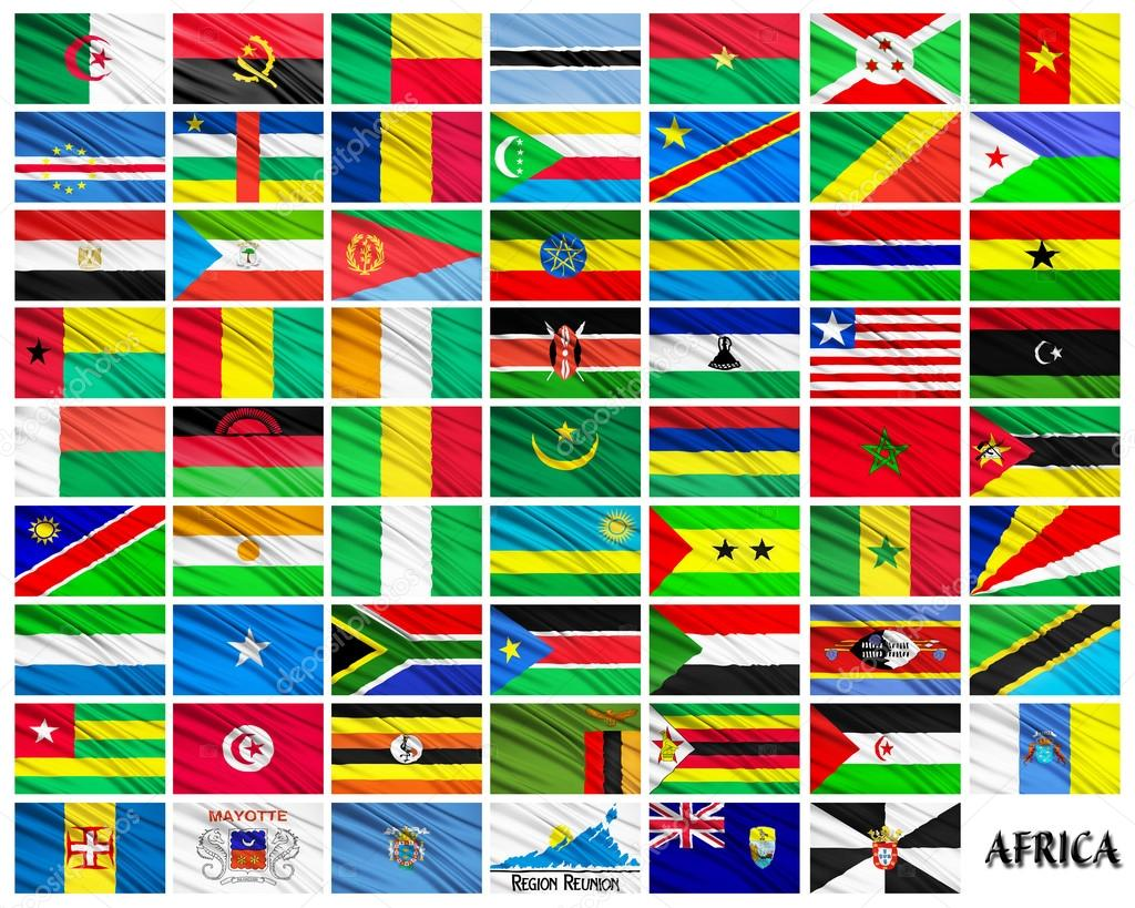 флаги стран африки в картинках с названиями страны тяжёлое трудное
