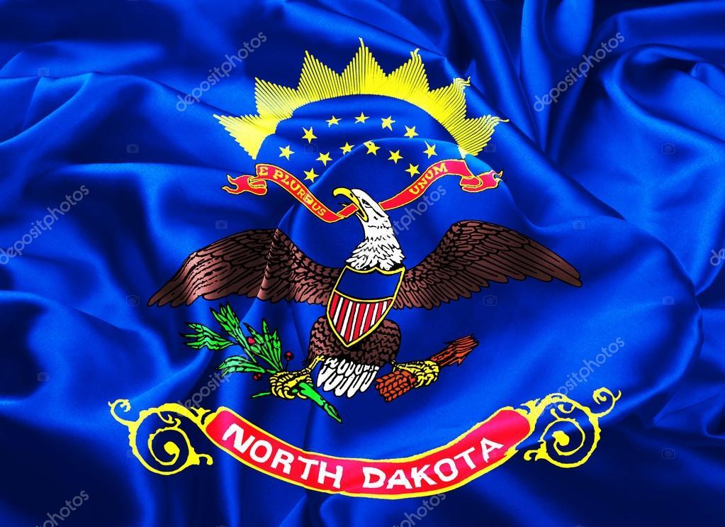 State Flag Of North Dakota Stock Photo Zloyel 87081832