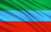 Flag of Republic of Dagestan, Russian Federation
