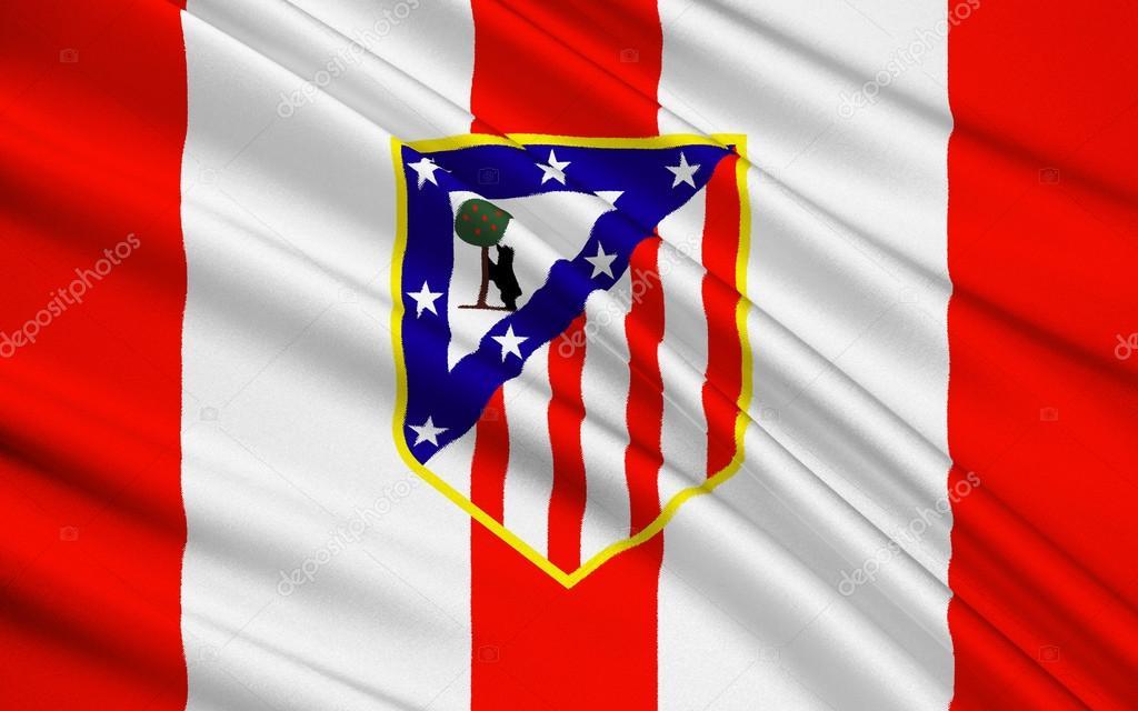 Bandeira de clube de Futebol Atlético de Madrid aad67cdb27db3