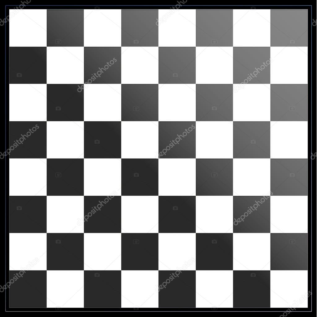 d4f75914034 tabuleiro de xadrez preto e branco — Stock Photo © zloyel  90306284