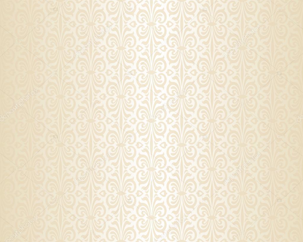 Bright Wedding Beige Luxury Vintage Wallpaper Background Pattern Vector By Erinvilar