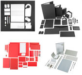 Templates set of corporate identity for your design.