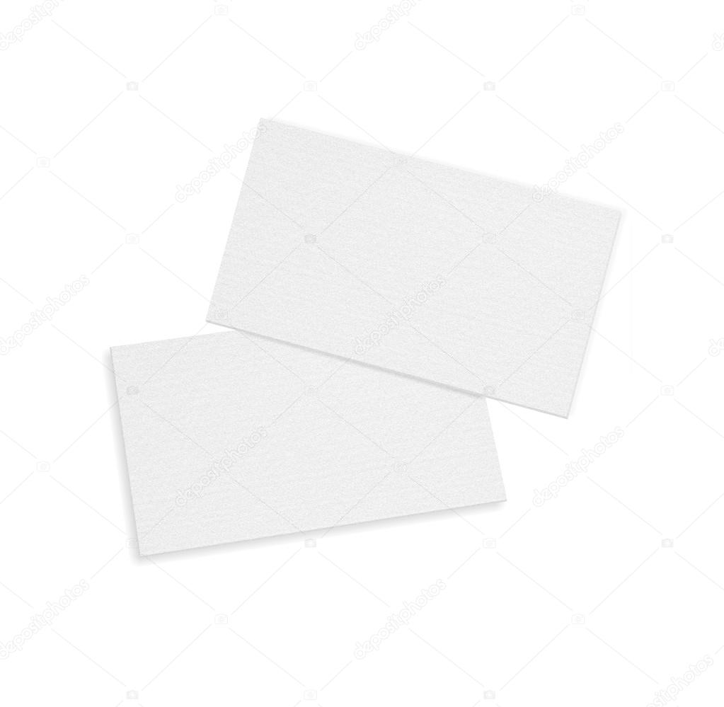 Blank business card over white background with soft shadows blank business card over white background with soft shadows fotografia de stock reheart Gallery