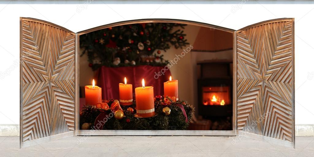 paisajes abiertas paisajes de navidad ver a trav s de. Black Bedroom Furniture Sets. Home Design Ideas