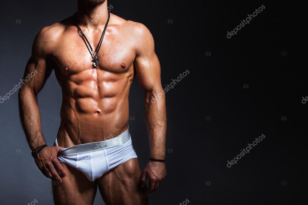 gay musculoso cuerpo perfecto