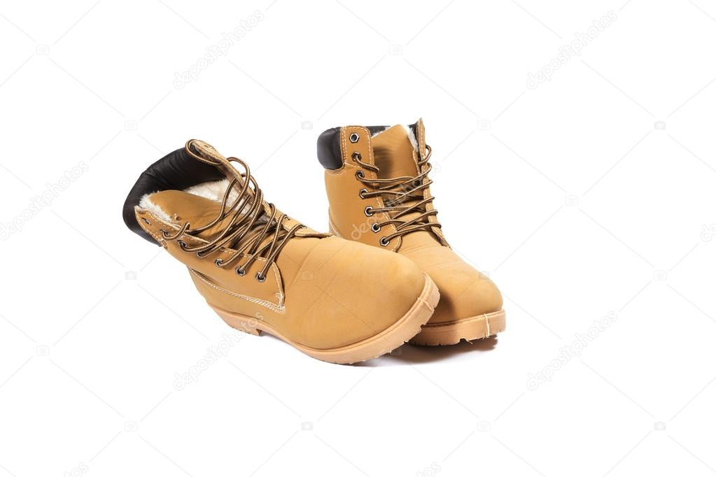 fantastiskt pris godkännandepriser bästa skor Winter brown boots — Stock Photo © RolandBarat #89623334