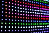 Fotografie DJ verschwommen led-leuchten panel