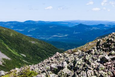 View from the Mont Jacques-Cartier