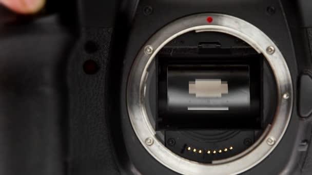 180fps szuper lassú fénykép fényképezőgép tükör, érzékelő és zár mechanizmus