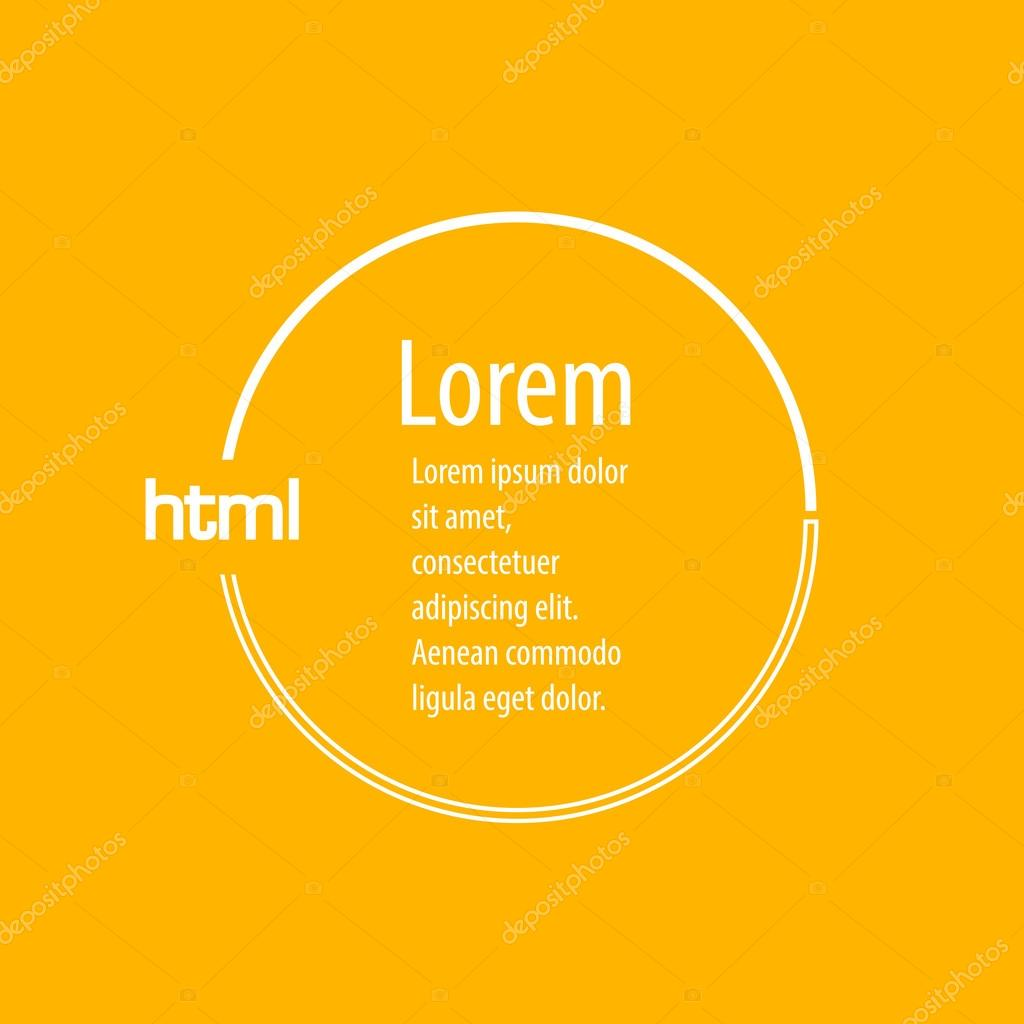 marco de fondo de web html icono coloreado — Vector de stock © helen ...