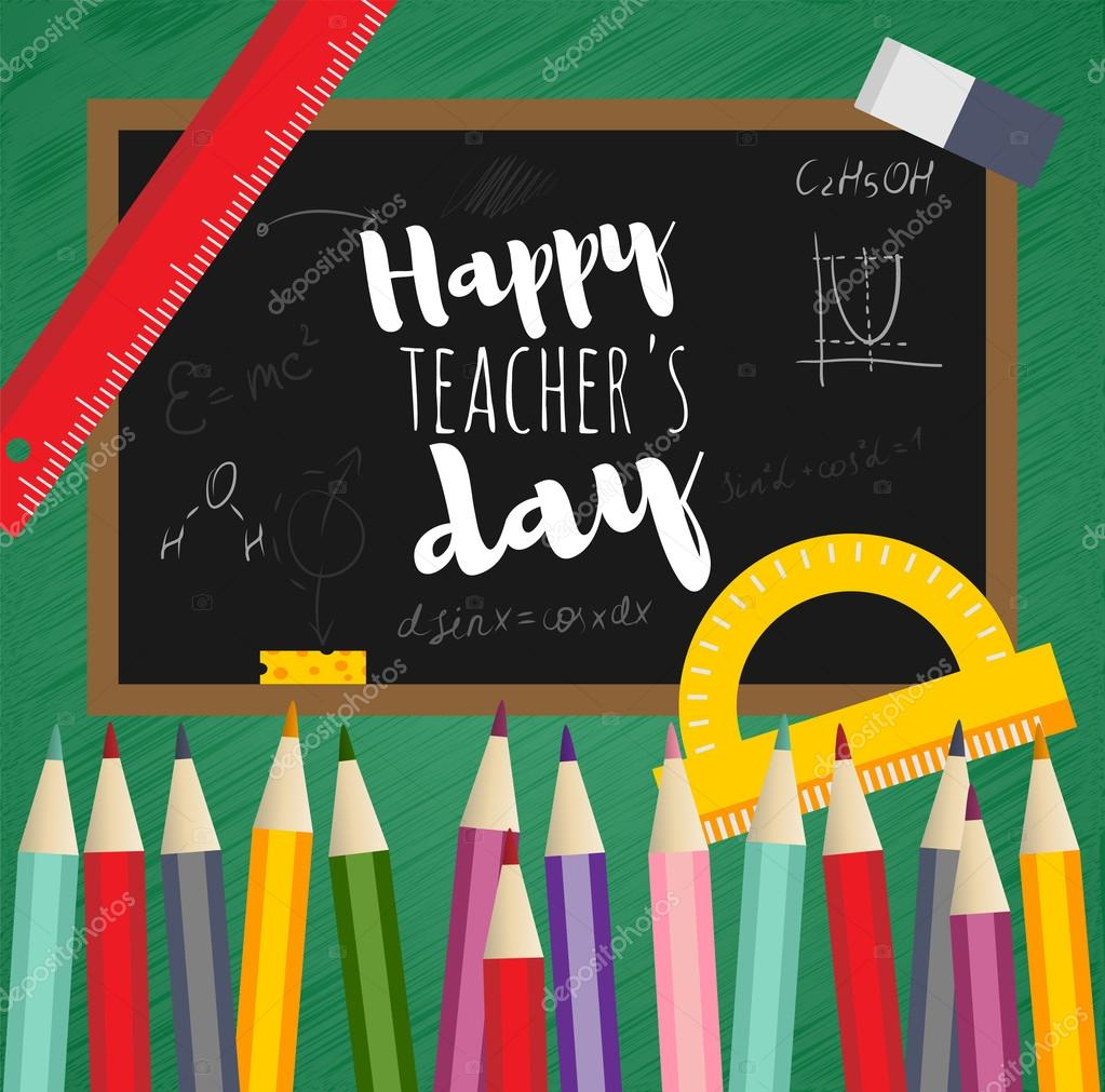 Greeting card happy teachers day stock vector helensh 123216544 greeting card happy teachers day stock vector kristyandbryce Image collections