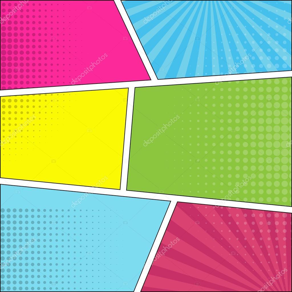 seis discurso c u00f3mico burbuja fondo pop art vector de stock  u00a9 helen tosh 123858398 Superhero Coloring Book superhero vector image licensing