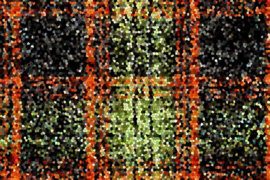grained texture checkered mosaic