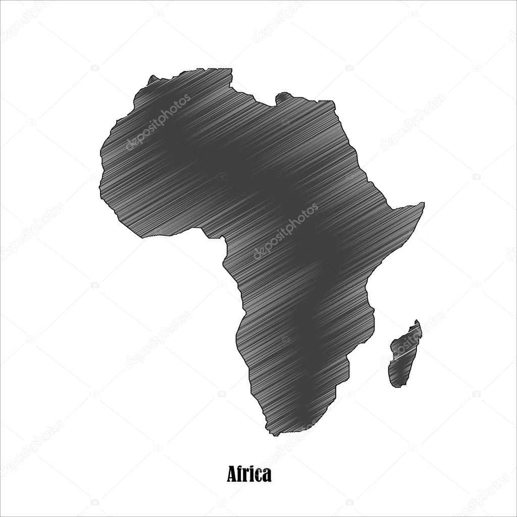 Africa map icon for your design Stock Vector endpz 61751811