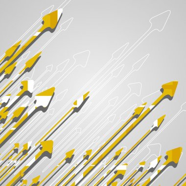 Arrow design background.