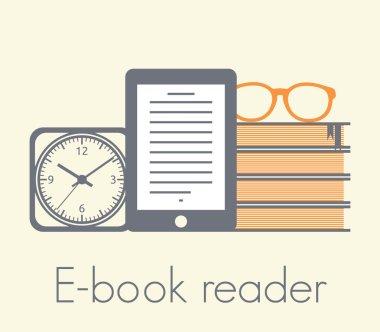 E-book reader concept