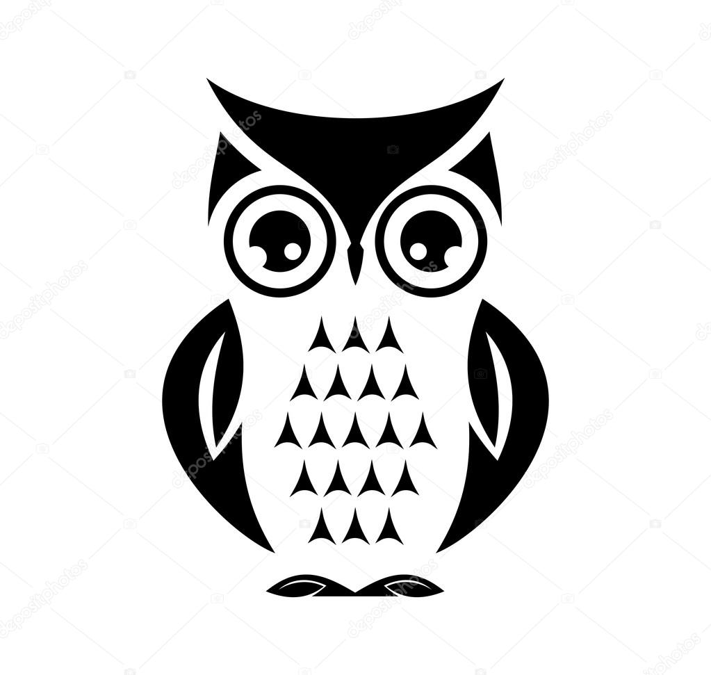 owl vector image Cute vector owl — Stock Vector © branchecarica #73477795