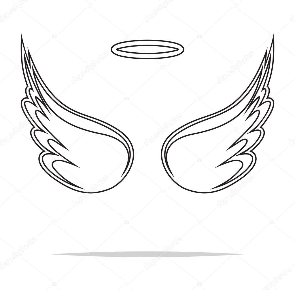 angel wings vector illustration stock vector branchecarica 75272281 rh depositphotos com angel wings vector download angel wings vector download
