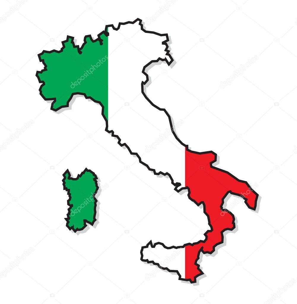 Cartina Dell Italia Solo Contorno.Contorno Mappa Italia Vettori Stock Immagini Disegni Contorno Mappa Italia Grafica Vettoriale Da Depositphotos