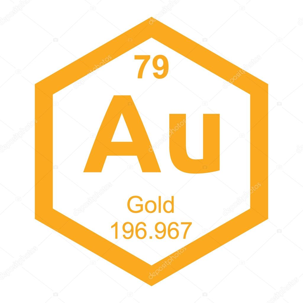 Periodic table gold stock vector branchecarica 76549155 periodic table gold stock vector urtaz