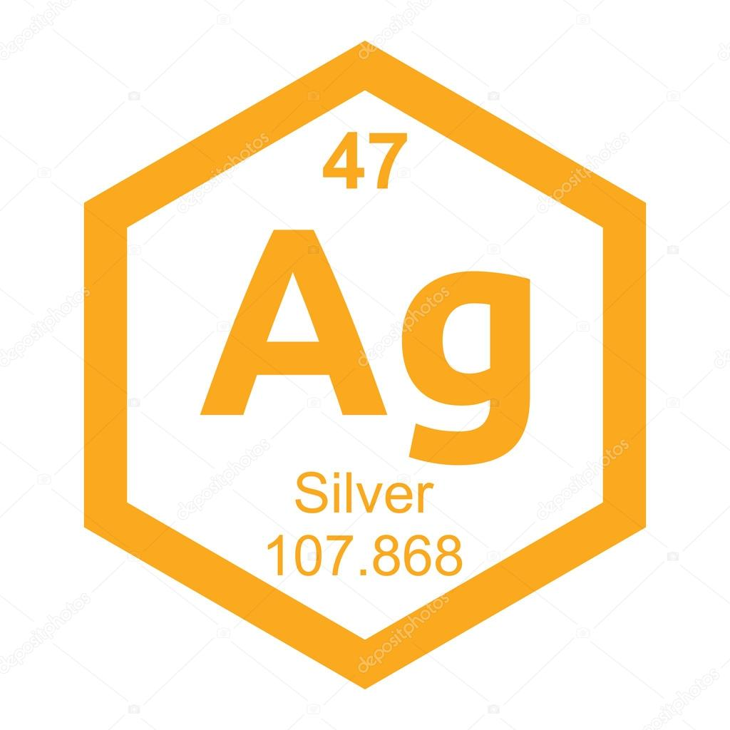 Periodic table silver stock vector branchecarica 82138108 periodic table silver stock vector 82138108 urtaz Image collections