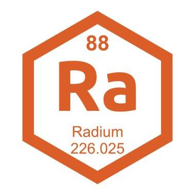 Periodic table Radium element