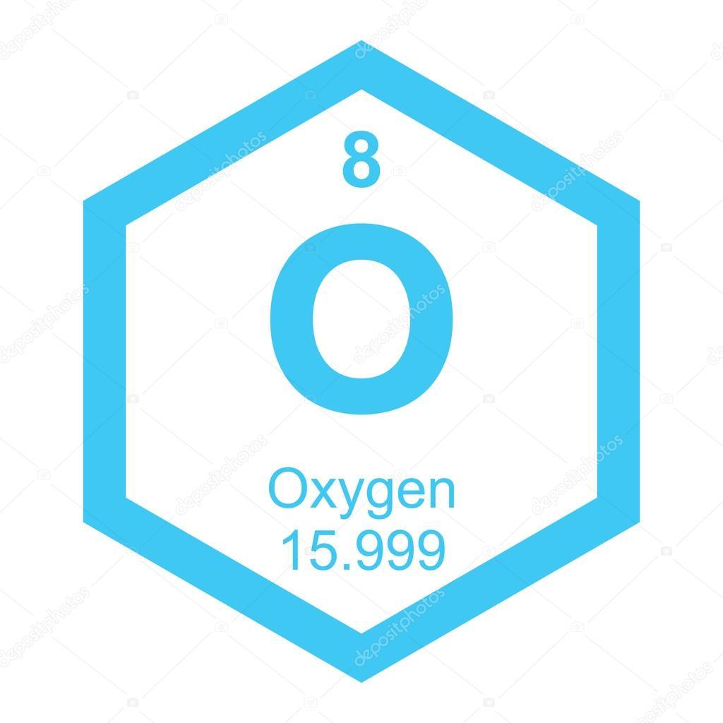 Periodic table oxygen element stock vector branchecarica 82947858 periodic table oxygen element stock vector urtaz Choice Image