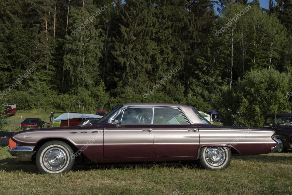 franken, deutschland, 21. juni 2015: amerikanische muscle-car