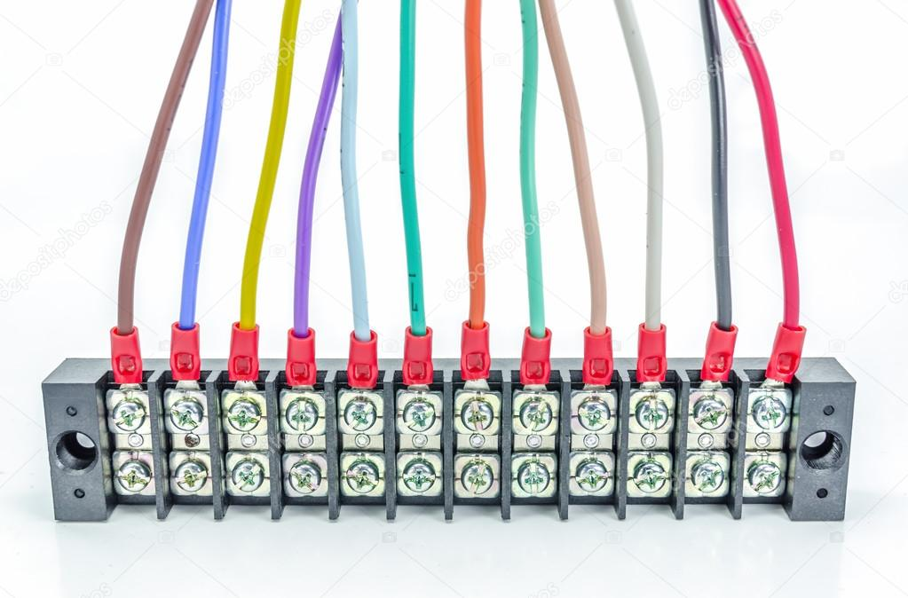 Wire connector terminal. — Stock Photo © nikonlike #102011798