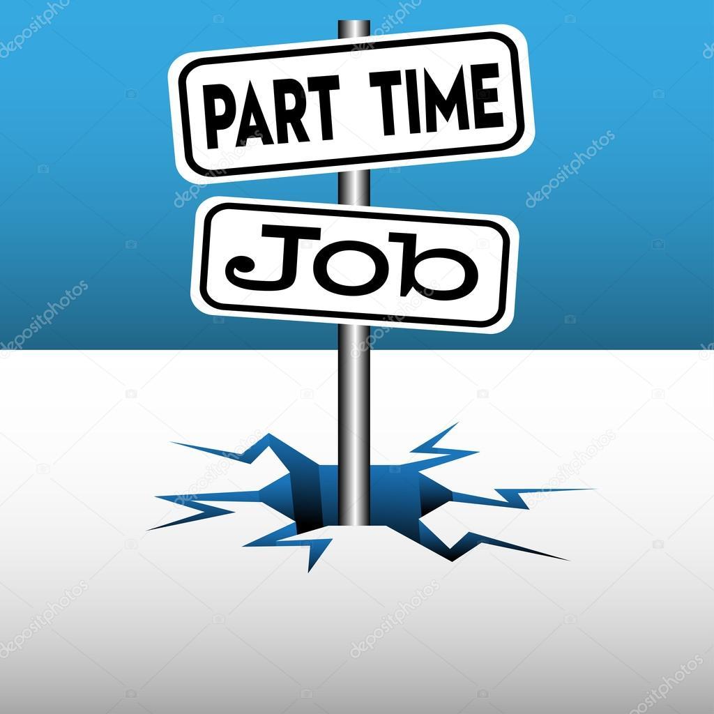 Part time job plates