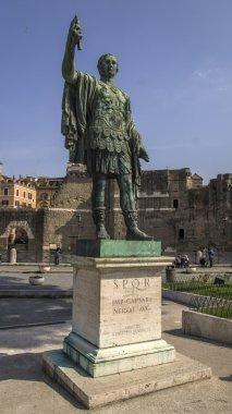 Monument of Gaius Julius Caesar in Rome