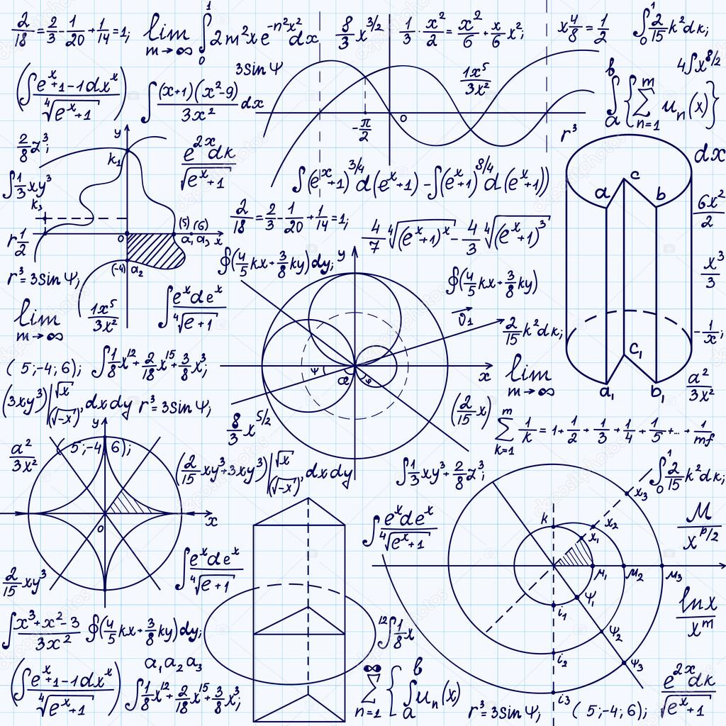 время картинки с математическими формулами и графиками устранении диспропорции трицепса