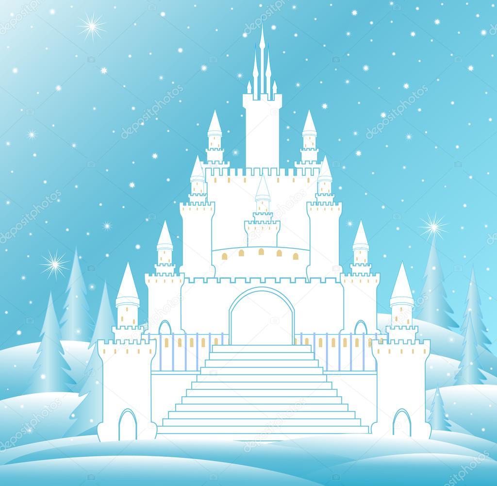 Шаблоны замка снежной королевы, своими руками красивые