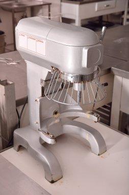 kneading machine in a restaurant kitchen