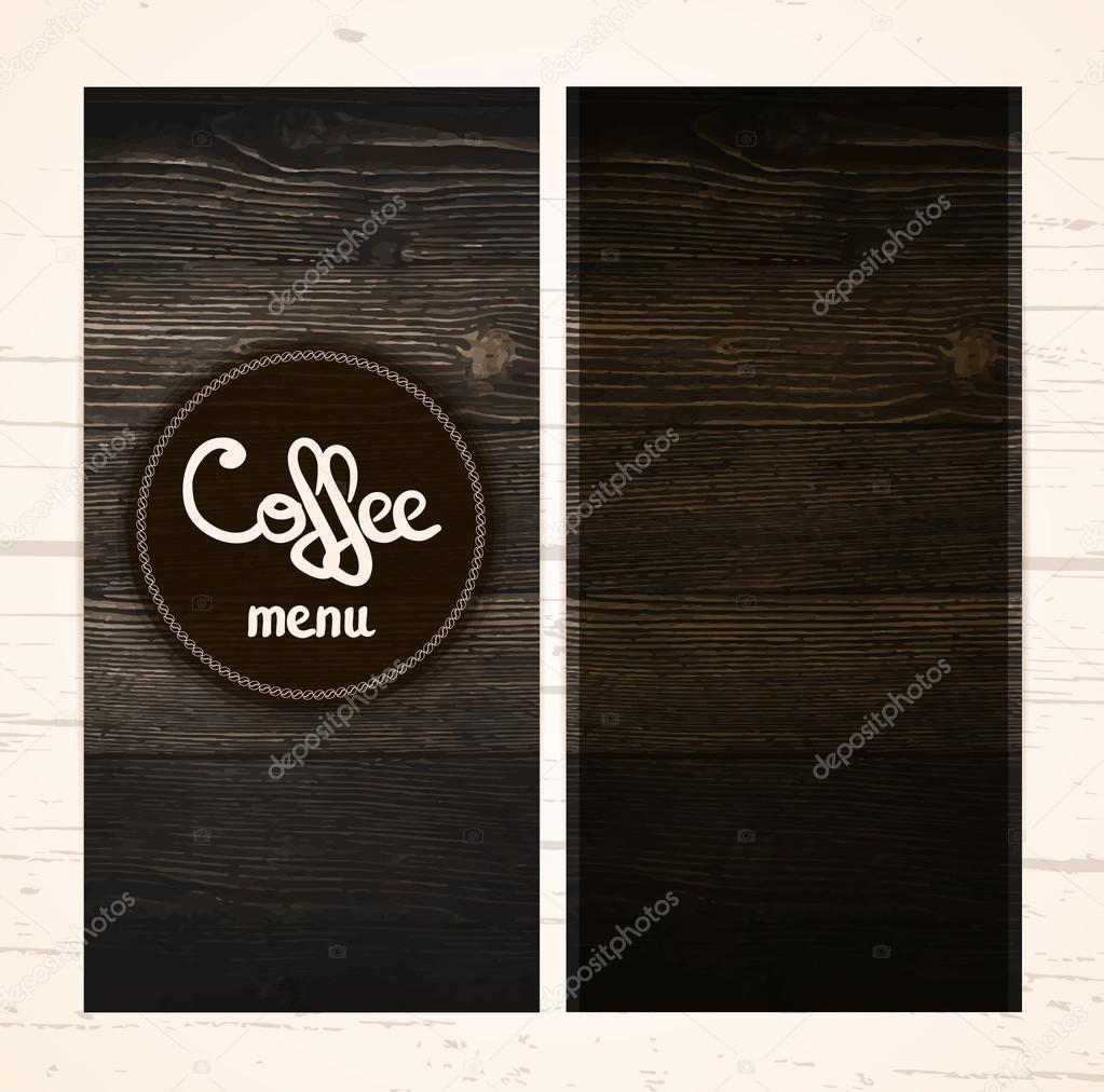 restaurant coffee menu design stock vector ita tinta 122461372