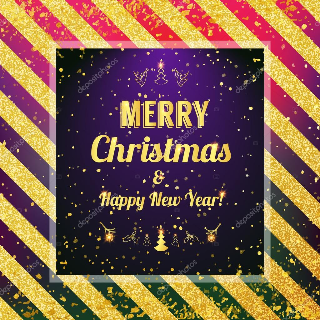 Weihnachten und frohes neues Muster zu heiraten — Stockvektor ...